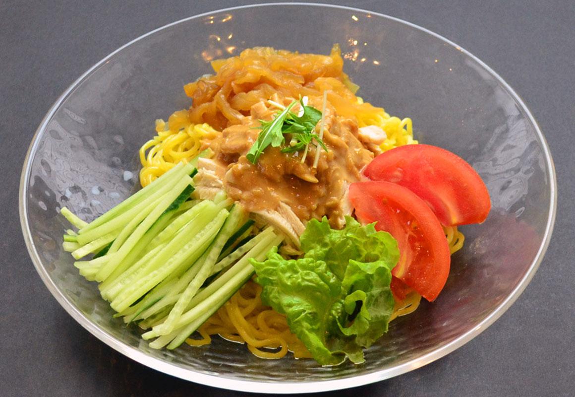 冷製棒々鶏麺