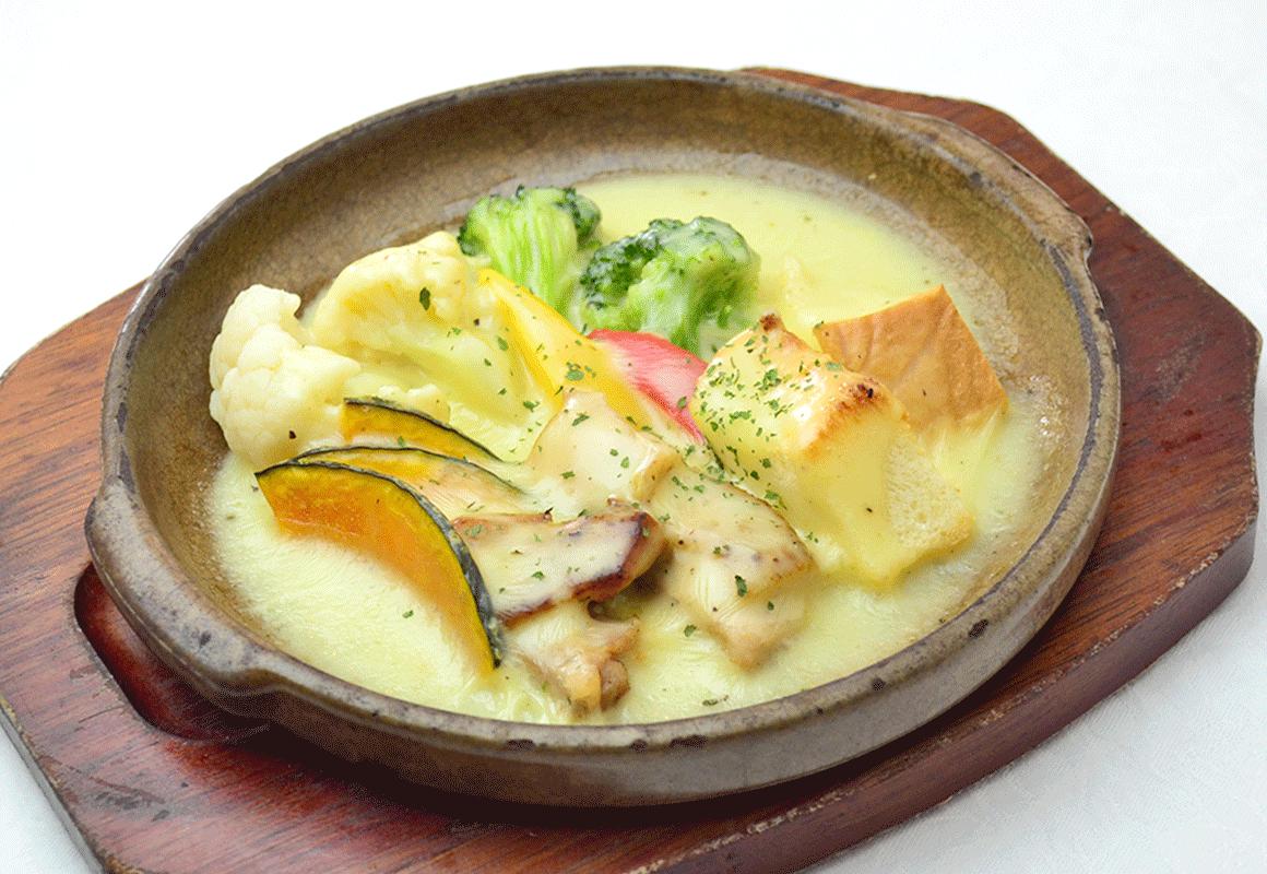 夏野菜と海鮮の塩炒め