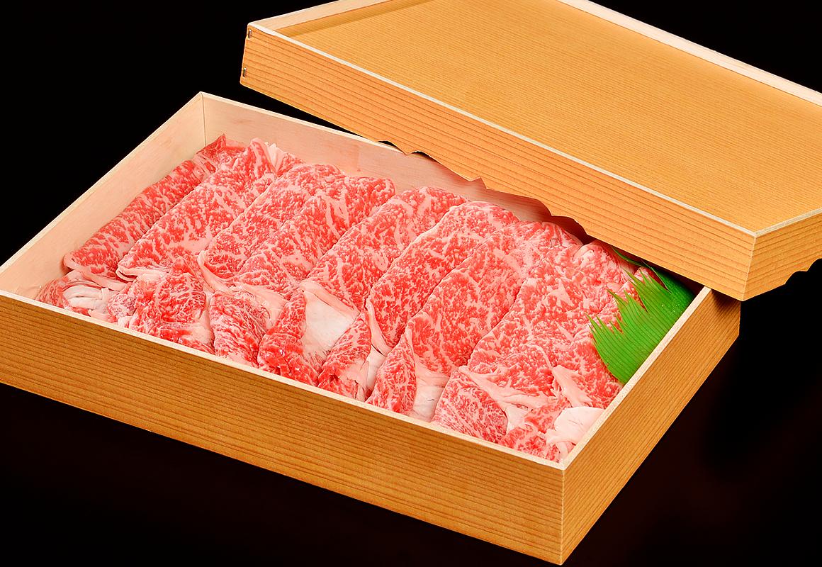 白老牛ロース600g(すき焼き用)