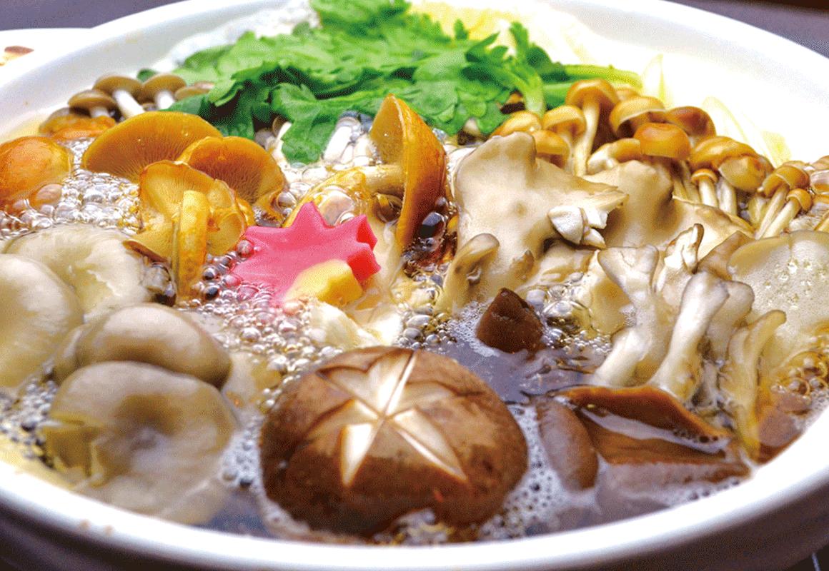 7種のきのこ鍋