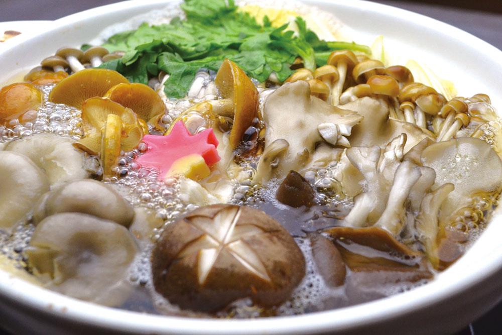 七種の木ノ子鍋